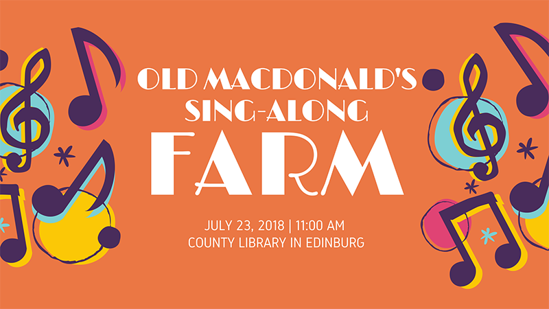 Old MacDonald's Sing-Along Farm at the County Library